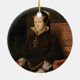 Queen Mary I of England Maria Tudor by Antonis Mor Christmas Ornament
