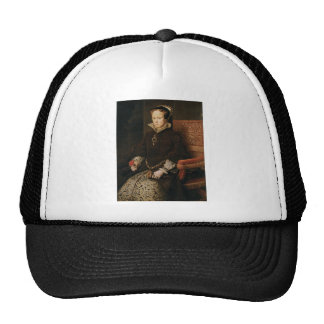 Queen Mary I of England Maria Tudor by Antonis Mor Mesh Hats