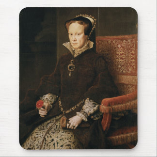 Queen Mary I of England Maria Tudor by Antonis Mor Mouse Mat