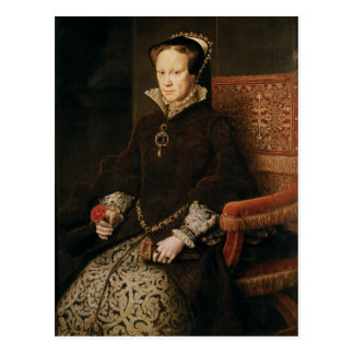 Queen Mary I of England Maria Tudor by Antonis Mor Postcard