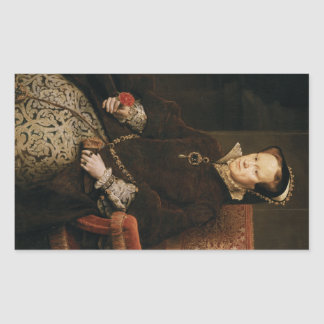 Queen Mary I of England Maria Tudor by Antonis Mor Stickers