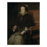 Queen Mary I of England Poster