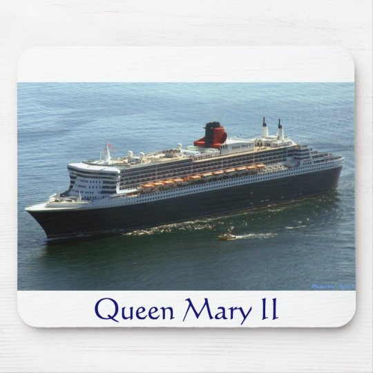 Queen Mary II Mouse Mat