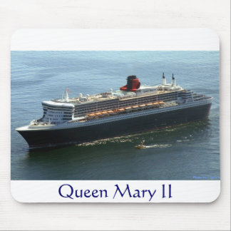Queen Mary II Mouse Pads