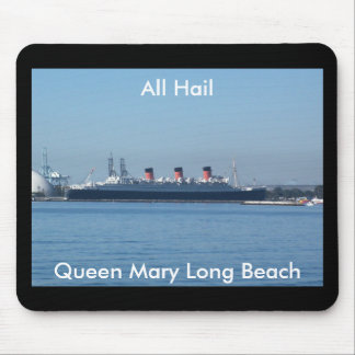 Queen Mary Long Beach, California Mouse Pad