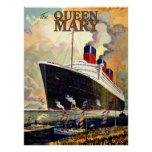 Queen Mary Poster
