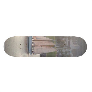 Queen Mary Ships Boats Custom Skate Board