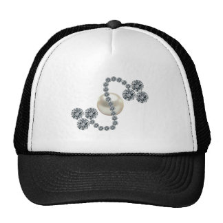 Queen Mary's Three Leaf Clover Bar Brooch Trucker Hat