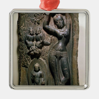 Queen Maya giving birth to the future Buddha Christmas Ornament