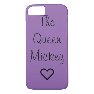 Queen Mickey phone case