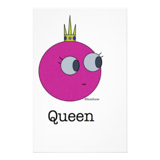 Queen_monster.010 Stationery