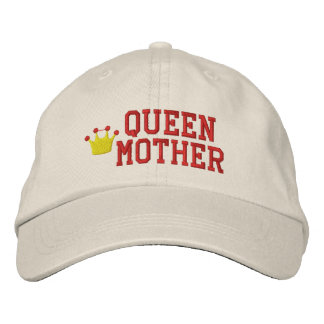 Queen Mother Embroidered Hat