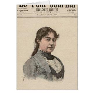 Queen Natalija of Serbia Card