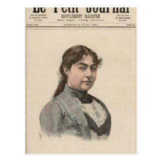 Queen Natalija of Serbia Postcard