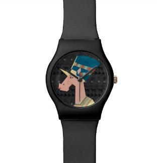 Queen Nefertiti Unicorn Watch