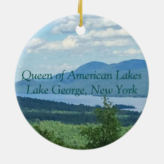 Queen of American Lakes Christmas Ornament