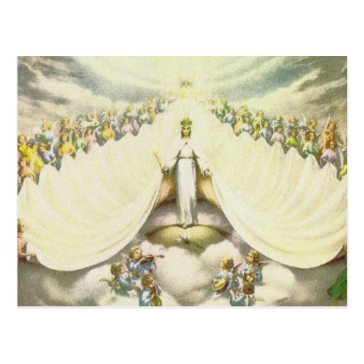 Queen of Angels Post Card