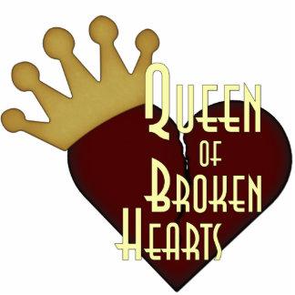Queen of Broken Hearts Photo Sculpture Badge