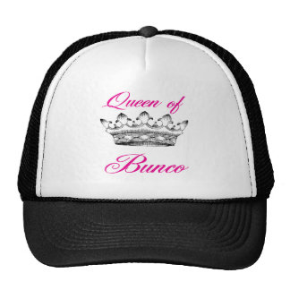 queen of bunco cap
