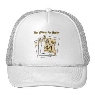 Queen of Chemo - Childhood Cancer Gold Ribbon Cap