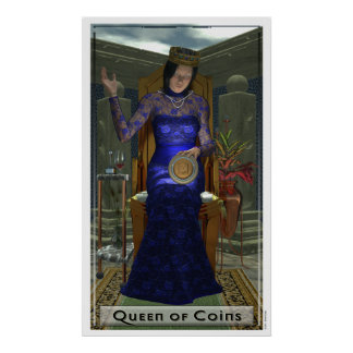 Queen of Coins Poster