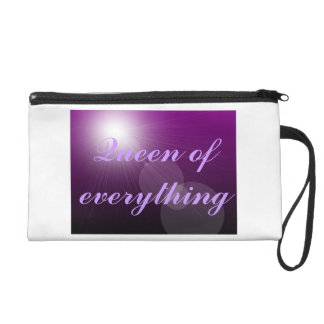 Queen of Everything Bagettes Bag Wristlet Clutch