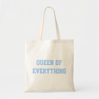 Queen Of Everything Budget Tote Bag