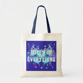 Queen Of Everything Butterfly Budget Tote Bags
