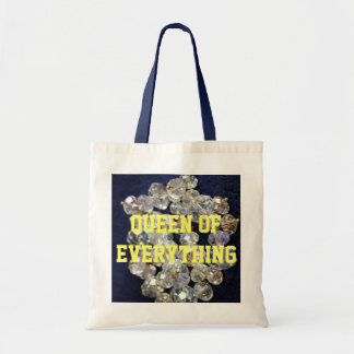 Queen Of Everything Diamonds Budget Tote Bag