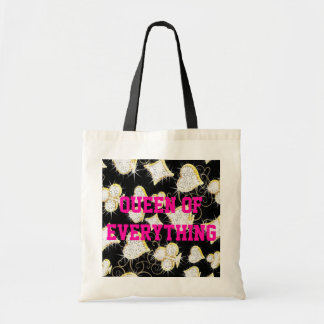 Queen Of Everything Diamonds Budget Tote Tote Bags