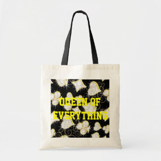 Queen Of Everything Diamonds Budget Tote Budget Tote Bag