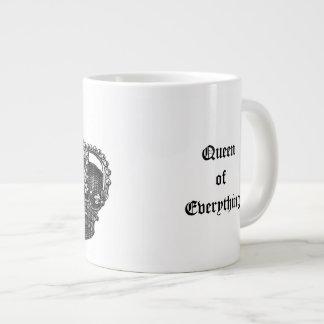Queen of Everything Royal Victorian Crown Mug Extra Large Mug