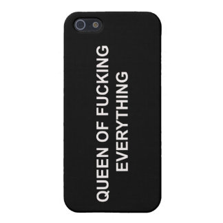 Queen Of F Everything Case iPhone 5 Cover