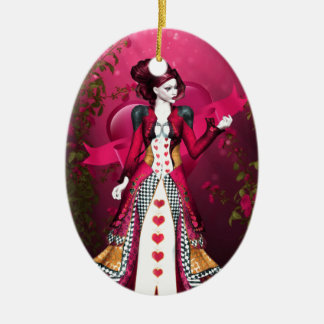 Queen of Heart Christmas Ornament