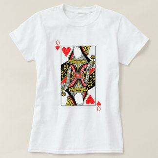 Queen of Hearts - Add Your Image T-Shirt