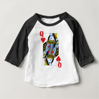 Queen of Hearts Baby T-Shirt