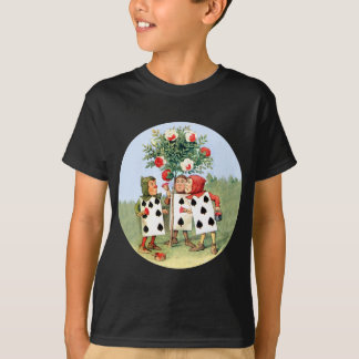Queen of Hearts' Cardmen Paint the Queens Roses T-Shirt