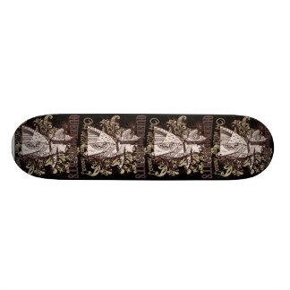 Queen of Hearts Carnivale Style Skateboard Deck