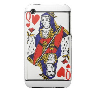 Queen Of Hearts Case iPhone 3 Cover