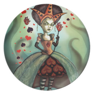Queen of Hearts Dinner Plates