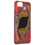 Queen of Hearts for i phone c 5 iPhone 5C Cases
