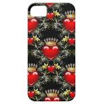 Queen of Hearts II iPhone 5 Case