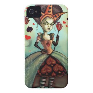 Queen of Hearts iPhone 4 Case