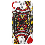 Queen of Hearts iPhone 5 Cover