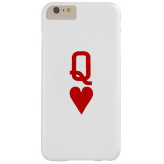 Queen of Hearts iPhone 6/6S Plus Barely There Barely There iPhone 6 Plus Case