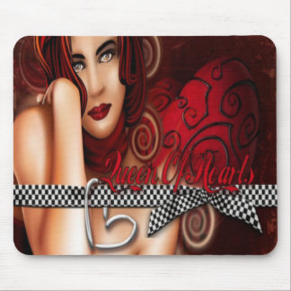 Queen Of Hearts - Mousepad