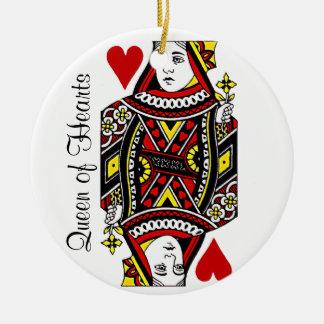 Queen of Hearts Ornament