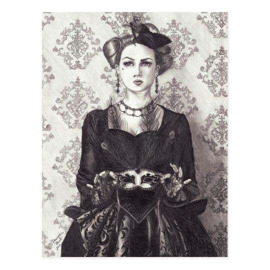 Queen of Hearts - Postcard