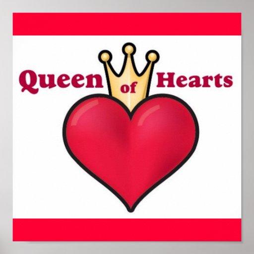QUEEN OF HEARTS POSTER