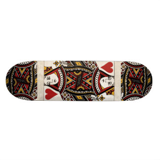 Queen of Hearts skateboard